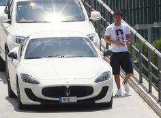 Lionel Messi's new car...Maserati