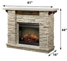 Electric idea, mantel, dimplex featherston, hous, electr fireplac, master bedroom, featherston electr, stone fireplaces, electric fireplaces