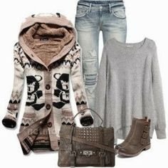 Cute Norwegian Sweater and winter outfits | Fashion World