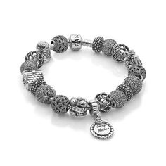 Pandora Loving Mother and Wife Bracelet - Item PANB-19-CMD   REEDS Jewelers