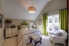 Apple Green Walls Bedroom Design, Pictures, Remodel, Decor and Ideas - page 2