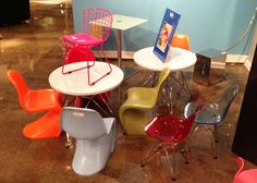 Cool kid-sized chairs by Zuo! #hpmkt