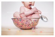 I want a baby in Fruit Loops too! #photography