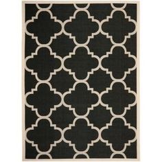 Safavieh Courtyard Black/Beige 8.9 ft. x 12 ft. Area Rug-CY6243-266-9 at The Home Depot
