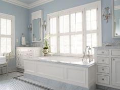 built-in tub