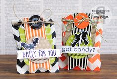 Pickled Paper Designs: Spooky Cuties Treat Sacks