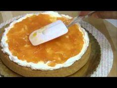 Torta Fria de Melocotones