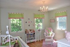 Adventures in Tullyland: My Baby's Boudoir- This room has BM Sweet Caroline paint. This is my pic for paint color so far