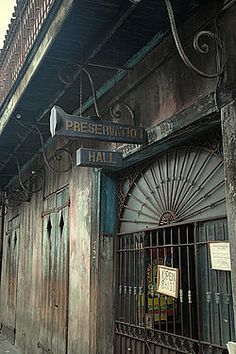 #Preservation #Hall entrance, New #Orleans