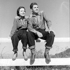 Wanda Hendrix and Audie Murphy