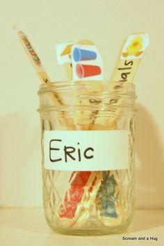 Kids & chores- chore jar
