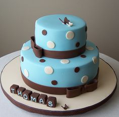 Baptism cake by cakespace - Beth (Chantilly Cake Designs), via Flickr
