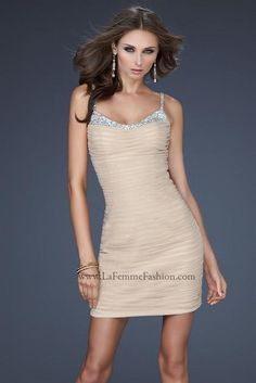 La Femme Dress 17026 at Peaches Boutique