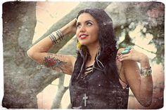 Sarah Christine - Tattooed Model