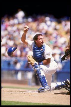 C Mike Scioscia, Dodger All-Star 1989-1990 #VoteDodgers