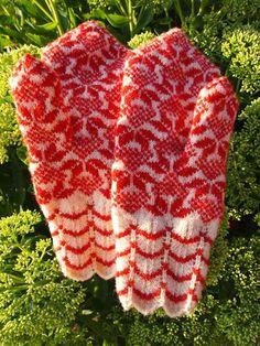 beautiful estonian mittens