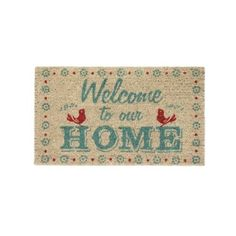 ADORABLE WELCOME MAT