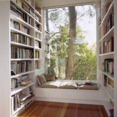 reading corners, home libraries, dream, book nooks, reading spot, reading nooks, hous, window seats, reading areas