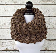 Highlands Oversized Cowl Knitting Pattern