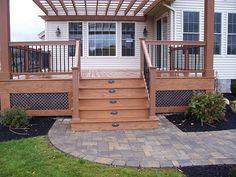 deck railing | ... For Constructing Decks And Deck Railing | Patio Deck Designs Idea