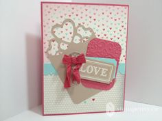 www.stampenvy.ca, stampin up, artisan embellishments kit, more amore