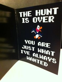 This is amazing.... Love old school duck hunt