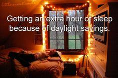 i love sleeping.