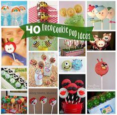 40 Oreo Cookie Pop Ideas