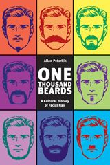 ONE THOUSAND MUSTACHES author Allan Peterkin will serve on the panel of distinguished judges at this year's National Beard and Mustache Championships in Las Vegas on November 11.    He is the world's leading pogonologist and has written two best-selling books on the subject, including ONE THOUSAND BEARDS: A CULTURAL HISTORY OF FACIAL HAIR (pictured).    #knowyourmo #geek #vegas