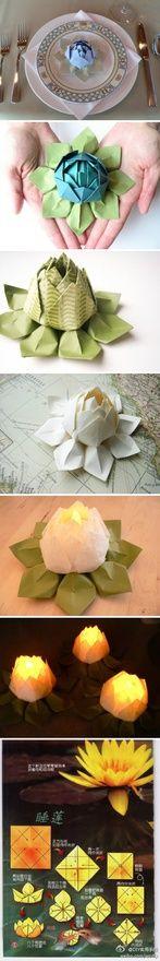 Art Origami Tutorial crafty