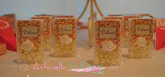 Pastillitas personalizadas #party #bautismo #babyshower #rosa#pink #fiesta http://antonelladipietro.com.ar/blog/2013/04/bautismo-cumple-rosado/