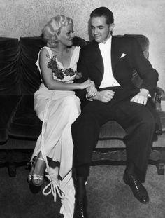 Jean Harlow & Howard Hughes