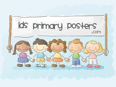 lds primary posters