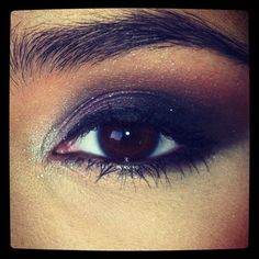 Super smoky eye - purple -
