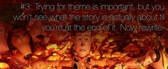 Pixar's 22 Rules of Storytelling: perfect for teaching narrative writing