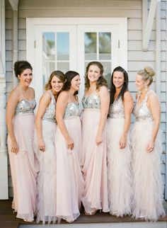 love love love the bridesmaid dresses