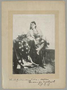 Go-Won-Go (the daughter of Chief Ga-ne-gan) - Iroquois (Mohawk) - no date