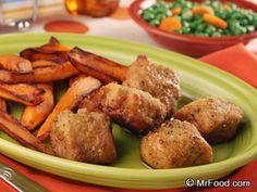 Buttermilk Chicken Nuggets   mrfood.com