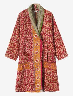 KANTHA QUILTED COAT