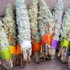 Make your own sage smudge sticks.