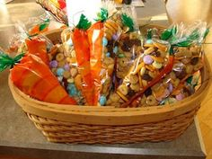 Bunny trail mix for Easter from The Martha Initiative