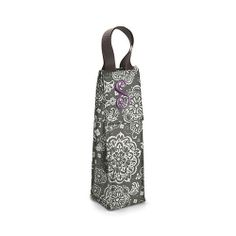 This bottle thermal is the perfect present for party hostess, co-workers or any special occasion on your calendar this fall. This fashionable beverage tote keeps your drinks cool on the way to the party and can be reused time and time again.
