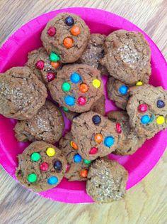Eggless peanut butter cookies!