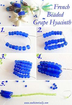French Beaded Grape