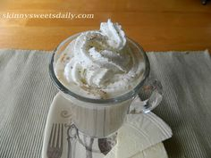 Skinny Chai Tea Latte recipe. So yummy and so easy to make in just a few minutes. Click pic for recipe and enjoy!