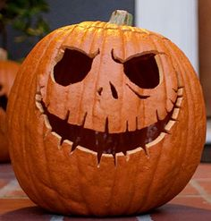 Simple, Yet Scary Pumpkin Carving Faces