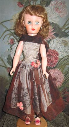 Beautiful All Original 1950s Deluxe Reading Doll