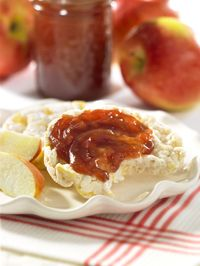 Spiced Apple Pear Freezer Jam