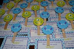 Monsters Inc Baby Shower @Carrie Mcknelly Simmons @Dana Curtis Simmons @Courtney Baker Simmons