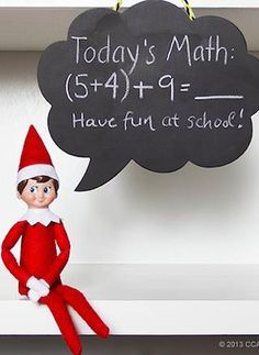 Little lessons in Elf on the Shelf fun :)